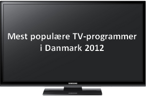 Mest sete tv-programmer 2012