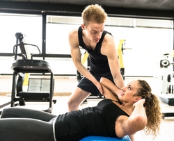 Træning i center