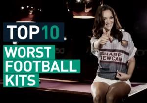 Verdens grimmeste fodboldtrøjer
